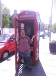 Obligatory Telephone Booth Pic, Edinburgh, Scotland